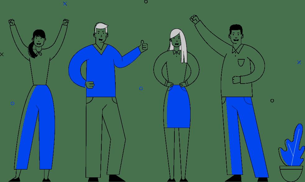 人の喜びイラスト
